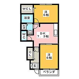 ブリュワリー豊洲 II棟[1階]の間取り