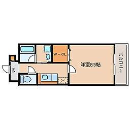 ラ・ギザロ[5階]の間取り