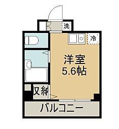 ラフィネ横須賀中央[503号室]の間取り