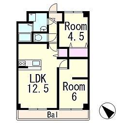 アクア・リンピア Re-room[3階]の間取り