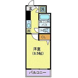 ロアール小石川植物園(ロアールコイシカワショクブツエン)[6階]の間取り
