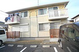 千葉県柏市藤ケ谷の賃貸アパートの外観
