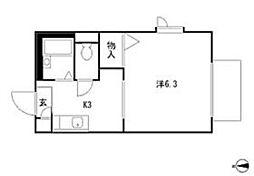 フェアコート G号棟[1階]の間取り