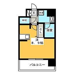 エンクレスト博多Rey[14階]の間取り