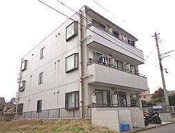 埼玉県川越市藤原町の賃貸マンションの外観