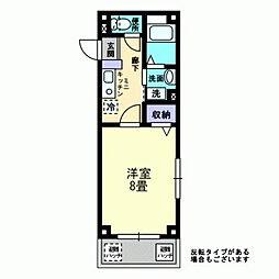 カルムシャンブル[2階]の間取り
