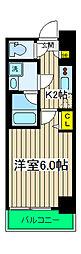 マークス横浜橋通り[1003号室]の間取り