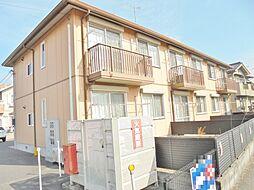 広島県福山市神辺町大字川北の賃貸アパートの外観