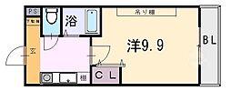 桜ケ丘晴楽館[1208号室]の間取り