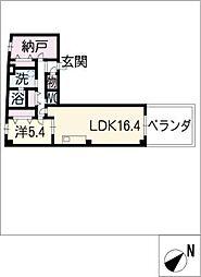 喜多山ビル[2階]の間取り