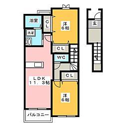 INUI36B[2階]の間取り