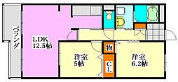 オーキッドヒル[2階]の間取り