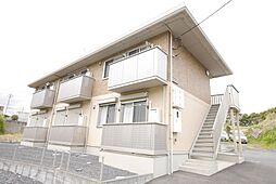 茨城県日立市田尻町6丁目の賃貸アパートの外観