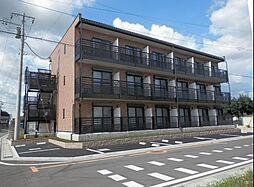 埼玉県東松山市大字高坂の賃貸マンションの外観