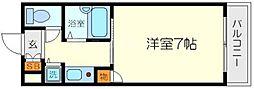 シティライフプレサンス新大阪[2階]の間取り