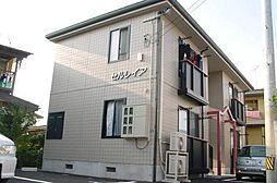 山形県山形市鳥居ヶ丘の賃貸アパートの外観