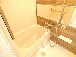 広々リラックスできる浴室です