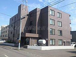 北海道札幌市東区北三十四条東8丁目の賃貸マンションの外観