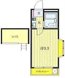セリバシ笹塚[2階]の間取り