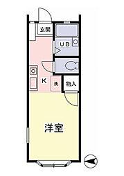 ジュネス桜ヶ丘[1階]の間取り