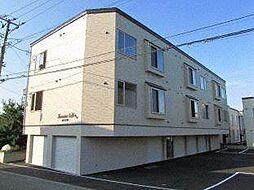 北海道札幌市手稲区富丘一条6丁目の賃貸アパートの外観