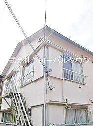 東京都北区十条仲原1の賃貸アパートの外観