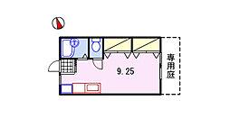 サンライフ21A棟[103号室]の間取り