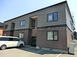 北海道札幌市東区北四十五条東5丁目の賃貸アパートの外観
