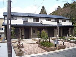京都府京都市左京区南禅寺北ノ坊町の賃貸アパートの外観