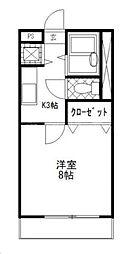 KUレジデンスIII[1階]の間取り