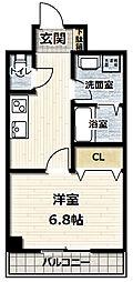 大阪府守口市春日町の賃貸マンションの間取り