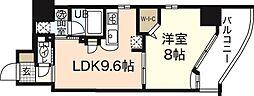 Veloce1[4階]の間取り