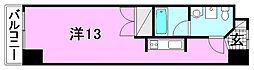 カローラ木屋町[603 号室号室]の間取り