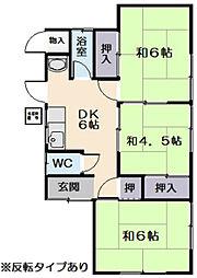 [一戸建] 三重県松阪市郷津町 の賃貸【三重県 / 松阪市】の間取り