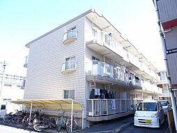 埼玉県坂戸市薬師町の賃貸マンションの外観