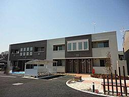 埼玉県上尾市大字地頭方の賃貸アパートの外観