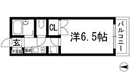 シャトー花屋敷[1階]の間取り