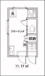 サークルハウス中落合[114号室]の外観