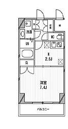 スペーシア高円寺I[612号室]の間取り