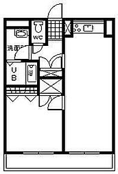 ピープルタウン[506号室]の間取り
