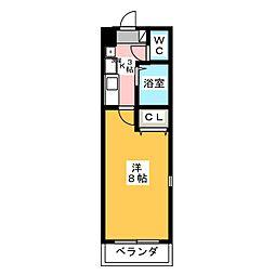 エクセランス小池II[3階]の間取り