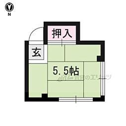 一乗寺駅 1.7万円