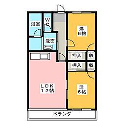 長谷川ビル[4階]の間取り