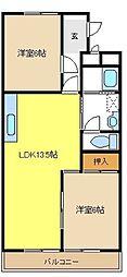 本郷ハイム[3階]の間取り