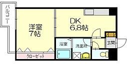 ヴェルモント桜原[4階]の間取り
