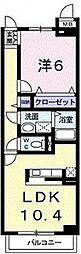 カルムメゾン[  1階号室]の間取り