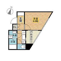 サンウッドコートⅡ[3階]の間取り