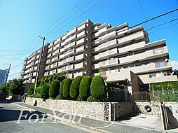 兵庫県神戸市灘区城内通2丁目の賃貸マンションの外観
