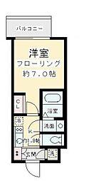 東京都狛江市元和泉1丁目の賃貸マンションの間取り