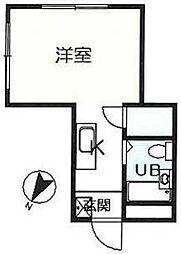 第2黒沢ビル[3階]の間取り